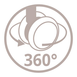 Doppelrollen 360° icon