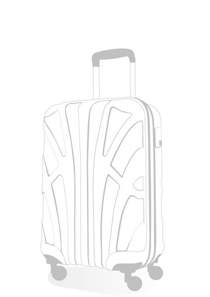 Handgepäck Koffer Zeichnung
