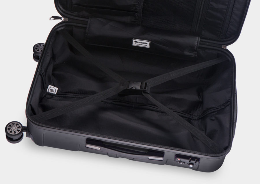 Koffer Innenleben